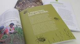 Permaculture book spread