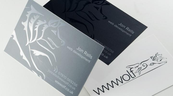 wwwolf businenss cards