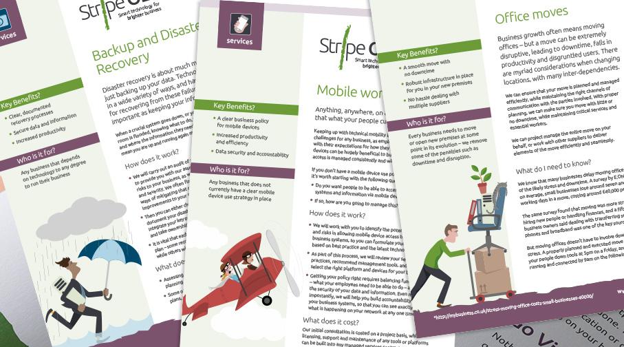 Stripe OLT service sheets